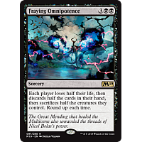 Fraying Omnipotence ( Foil )