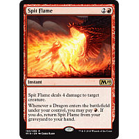 Spit Flame ( Foil ) (Core Set 2019 Prerelease)