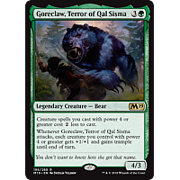 Goreclaw, Terror of Qal Sisma ( Foil ) (Core Set 2019 Prerelease)