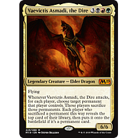 Vaevictis Asmadi, the Dire ( Foil ) (Core Set 2019 Prerelease)