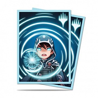 Standard Deck Protector - Chibi Collection Jace - Mystic for Magic (100 Sleeves)