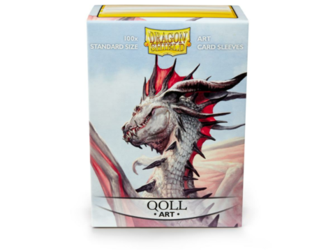 Dragon Shield - Classic Art Sleeves - Qoll (100 Sleeves)_boxshot