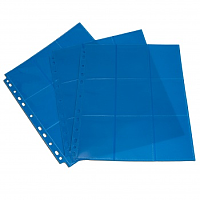 Blackfire 18-Pocket Pages - Blue - Sideloading (50 pcs)