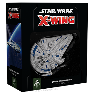 Star Wars: X-Wing Second Edition - Lando's Millennium Falcon_boxshot