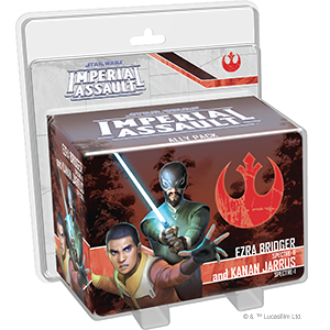 Star Wars: Imperial Assault - Ezra Bridger & Kanan Jarrus Ally Pack_boxshot