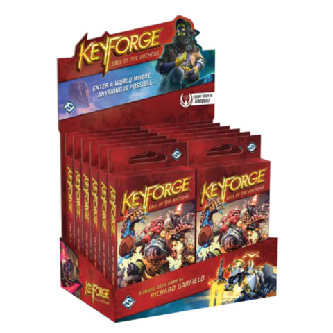 KeyForge: Call of the Archons Archon Deck Display (12 decks)_boxshot