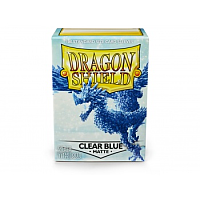 Dragon Shield - Matte Clear Blue(100)