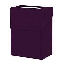 Solid Deck Boxes - Plum