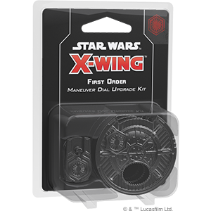 Star Wars: X-Wing Second Edition - First Order Maneuver Dial Upgrade Kit_boxshot