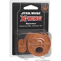 Star Wars: X-Wing Second Edition - Resistance Maneuver Dial Upgrade Kit