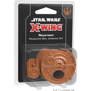 Star Wars: X-Wing Second Edition - Resistance Maneuver Dial Upgrade Kit_boxshot