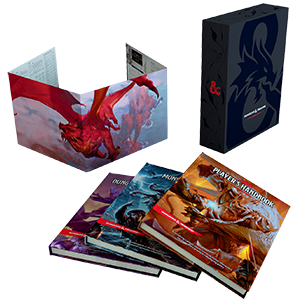 Dungeons & Dragons – D&D Core Rules Gift Set _boxshot