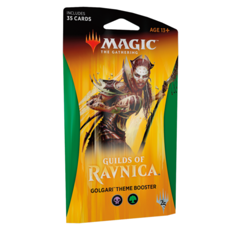 Guilds of Ravnica Theme Booster - Golgari_boxshot