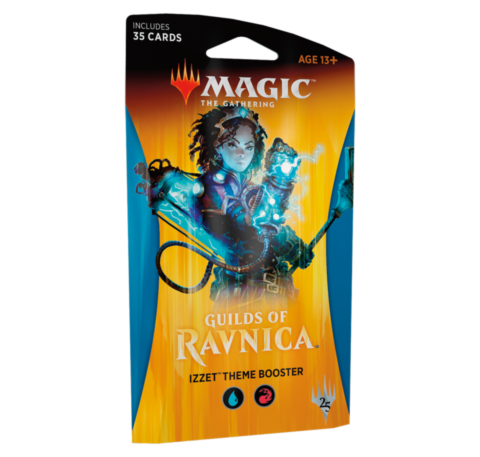 Guilds of Ravnica Theme Booster - Izzet_boxshot