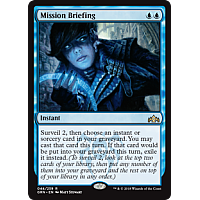Mission Briefing (Foil)