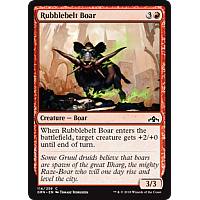 Rubblebelt Boar