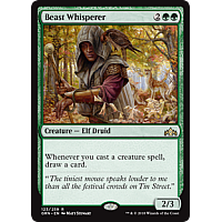 Beast Whisperer ( Foil ) ( Guilds of Ravnica Prerelease )
