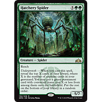 Hatchery Spider ( Foil ) ( Guilds of Ravnica Prerelease )