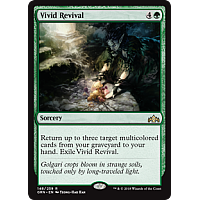 Vivid Revival ( Foil ) ( Guilds of Ravnica Prerelease )