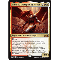 Aurelia, Exemplar of Justice ( Foil ) ( Guilds of Ravnica Prerelease )
