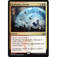 Deafening Clarion ( Foil ) ( Guilds of Ravnica Prerelease )