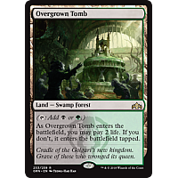 Overgrown Tomb ( Foil )