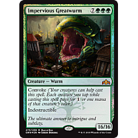 Impervious Greatwurm ( Foil ) (Buy-a-Box)