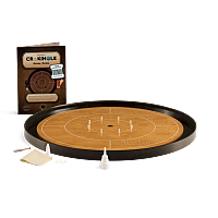 Crokinole TOURNAMENT – steamed beech with ebony ditch