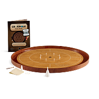 Crokinole TOURNAMENT – Steamed Beech with Cherry ditch