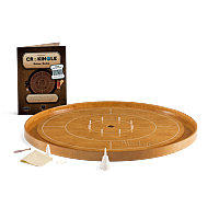 Crokinole TOURNAMENT – Steamed Beech with Steamed Beech ditch