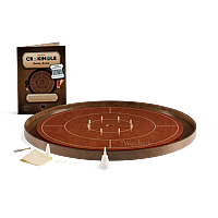 Crokinole TOURNAMENT – Cherry with Walnut ditch