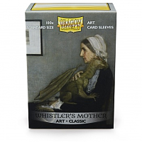 Dragon Shield Art Sleeves - Whistler's Mother (100 Sleeves)