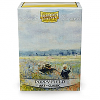 Dragon Shield Art Sleeves - Poppy Field (100 Sleeves)