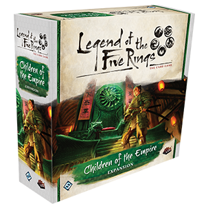 Legend of the Five Rings: The Card Game - Children of the Empire_boxshot