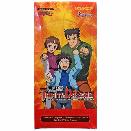 Cardfight!! Vanguard G - We Are!!! Trinity Dragon - Character Booster_boxshot