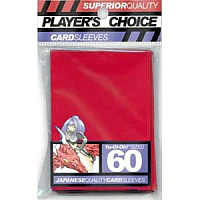 Player's Choice Small Sleeves - Red