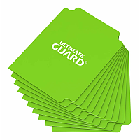 Ultimate Guard Card Dividers Standard Size Light Green (10)