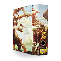 SLIPCASE BINDER ART - Umber