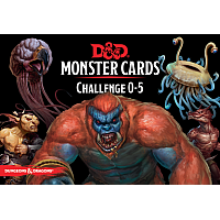 Dungeons & Dragons – Monster Cards: Challenge 0-5 (177 cards)