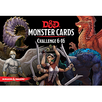 Dungeons & Dragons – Monster Cards: Challenge 6-16 (74 cards)