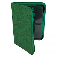Blackfire 4-Pocket Premium Zip-Album - Green