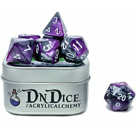 DnDice Acrylic Alchemy: Liches Luxury