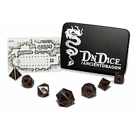 DnDice Solid Zink: Copper Ancient Dragon