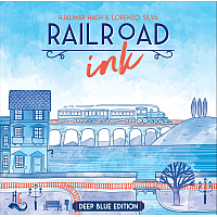 Railroad Ink: Deep Blue Edition