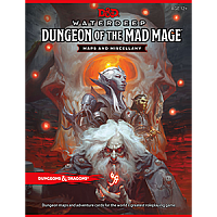 Dungeons & Dragons – Waterdeep Dungeon of the mad Mage - Maps & Miscellany