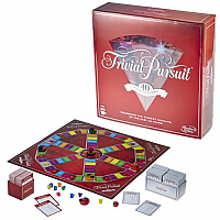 Trivial Pursuit: 40th Anniversary Ruby Edition (English)