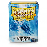 Dragon Shield - Matte Baby Blue (100)