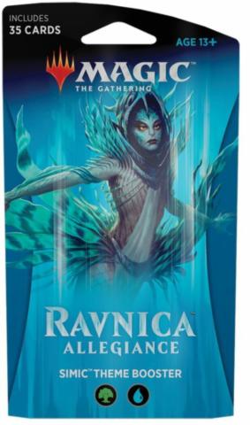 Ravnica Allegiance Theme Booster - Simic_boxshot