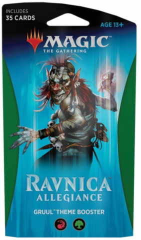 Ravnica Allegiance Theme Booster - Gruul_boxshot