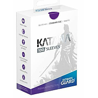 Ultimate Guard Katana Sleeves Standard Size Purple (100)